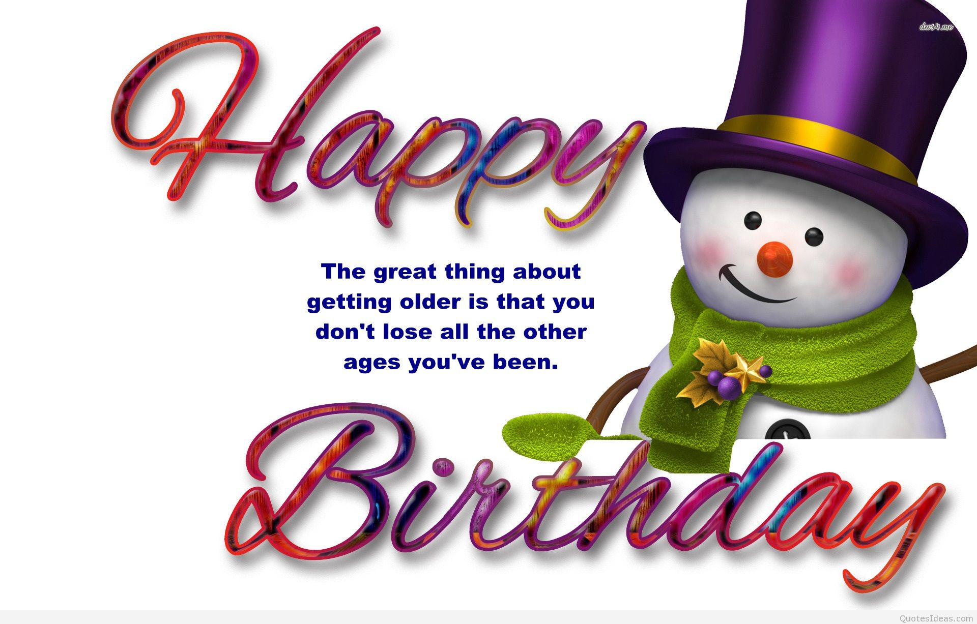Amazing Top 30 Cute Birthday Quotes With Images