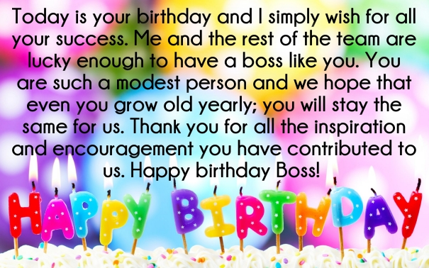 70 best boss birthday wishes quotes with images quotes yard happy birthday wishes for boss m4hsunfo