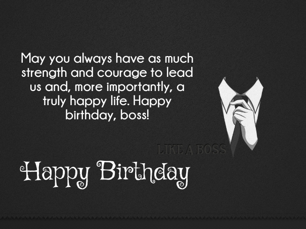 Happy Birthday Quotes Boss ~ Best boss birthday wishes quotes with images yard