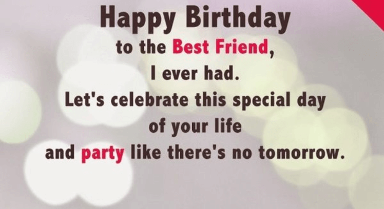 Happy Birthday Quotes And Wishes For A Friend With