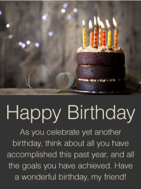 50 best happy birthday greetings to a friend � quotes yard