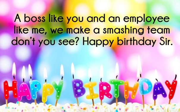 70 best boss birthday wishes quotes with images quotes yard birthday wishes for team leader birthday wishes for supervisor m4hsunfo