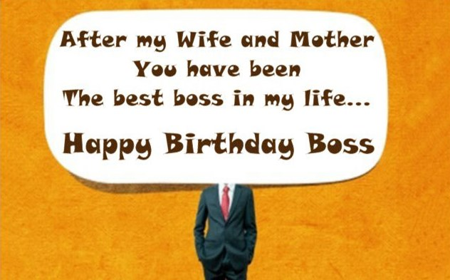 Birthday Wishes For Boss Funny ~ Best boss birthday wishes quotes with images