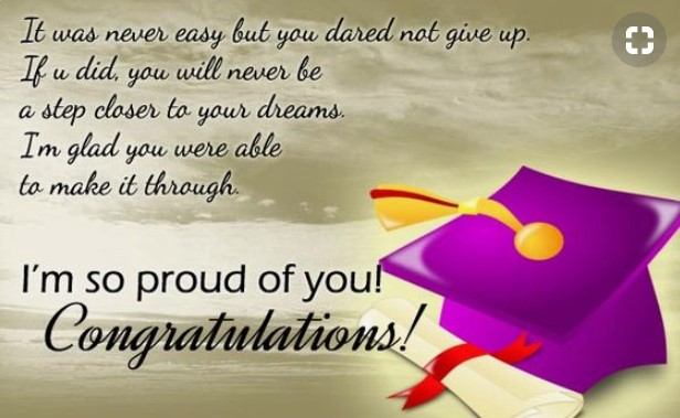 Inspirational Quotes For Highschool Graduates From Parents