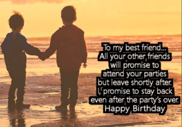 Happy Birthday Quotes Special Friend ~ Happy birthday quotes and wishes for a friend with pictures