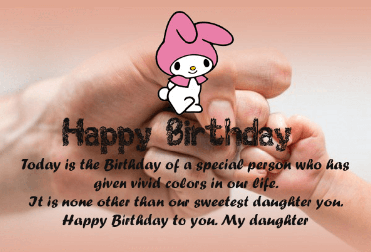 Happy Birthday Quotes For Daughter ~ 60 best happy birthday quotes and sentiments for daughter u2013 quotes yard