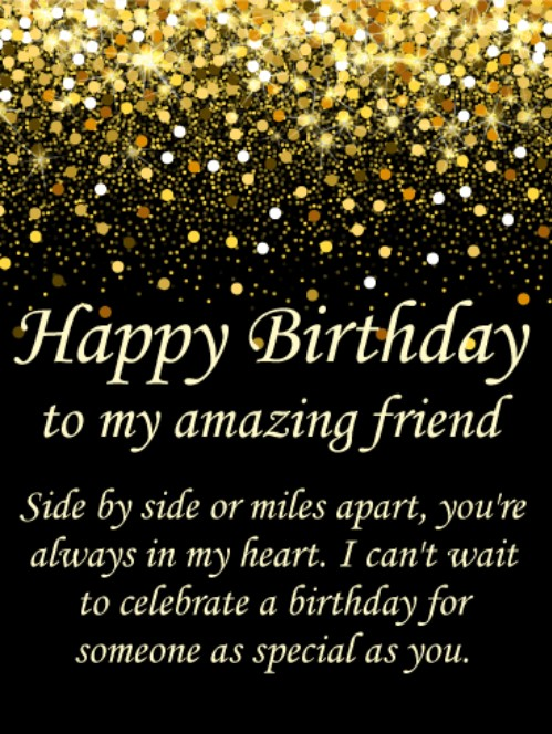 Top 50 Birthday Wishes For Best Friends With Images