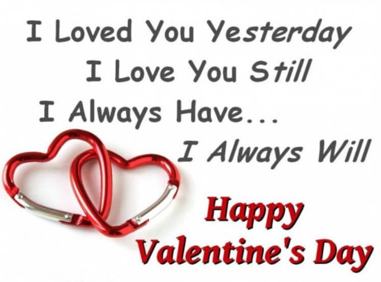 Valentines Love Quotes For Him