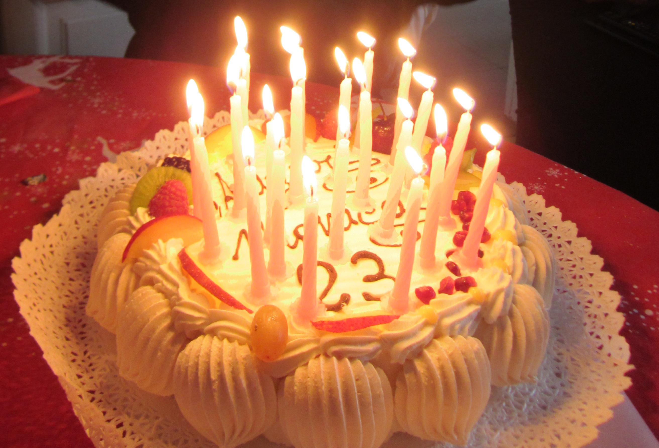 Photos Of Birthday Cakes With Candles