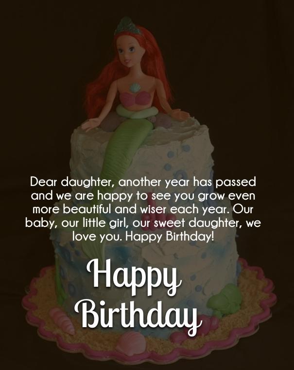 birthday card sayings daughter
