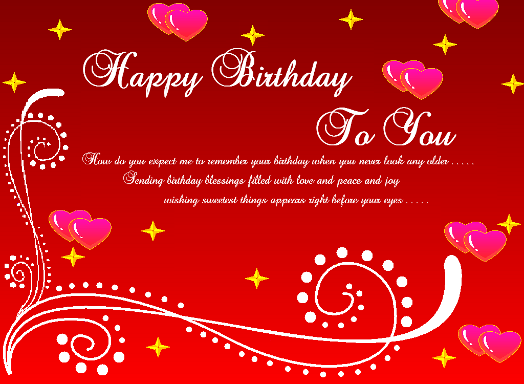 Birthday Greeting Messages For Friends