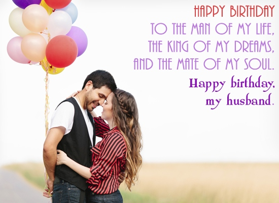 birthday wishes for husband with love