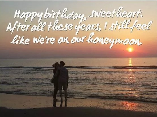 Romantic Birthday Wishes For Husband