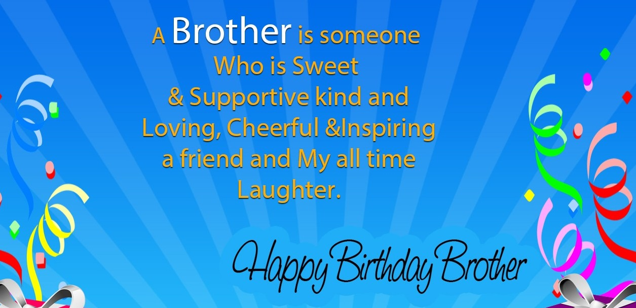 Happy Birthday Wishes Brother Images Pictures