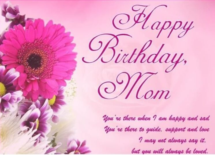 Birthday Card Quotes For Mom