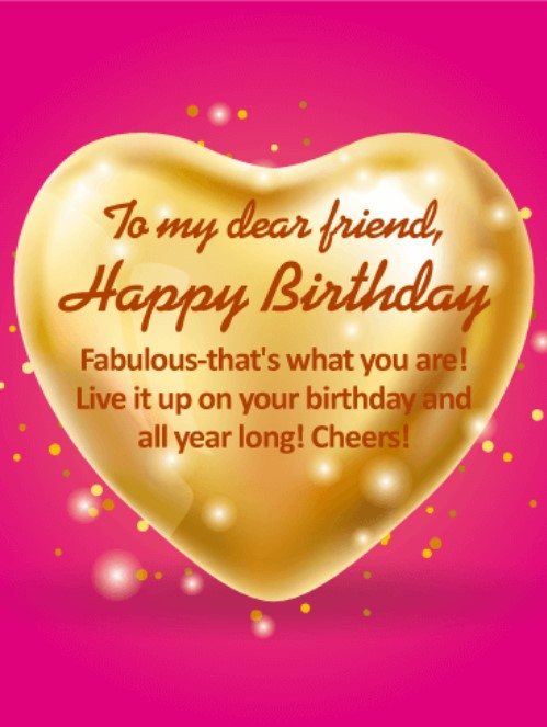 Top 50 birthday wishes for best friends with images quotes yard birthday greetings for friend m4hsunfo