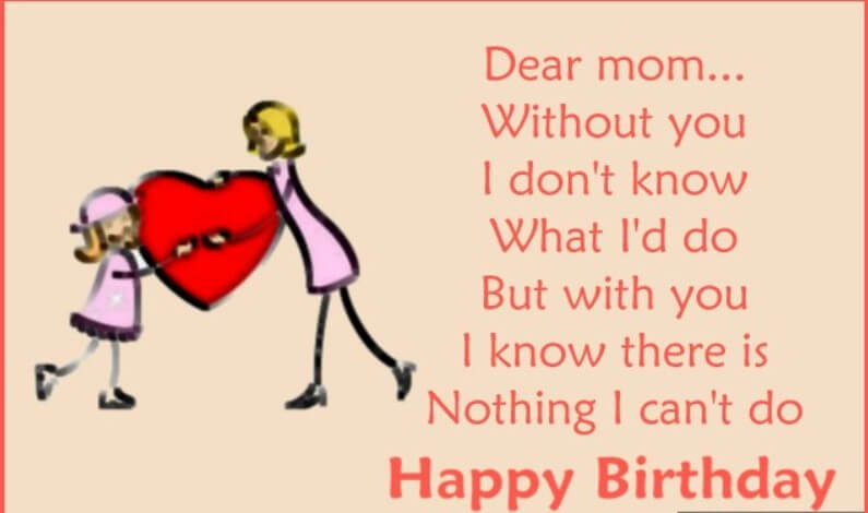 Birthday Quotes For Best Mom