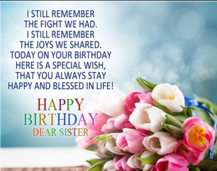 Birthday Quotes For Crazy Sister