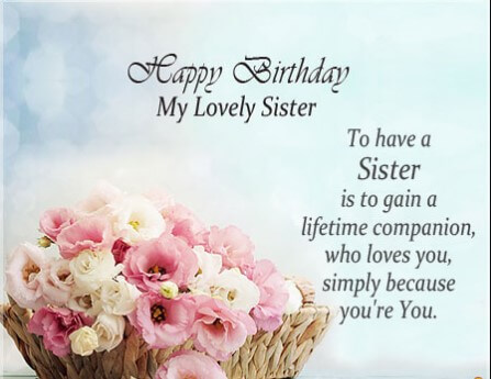 Birthday Quotes For Married Sister