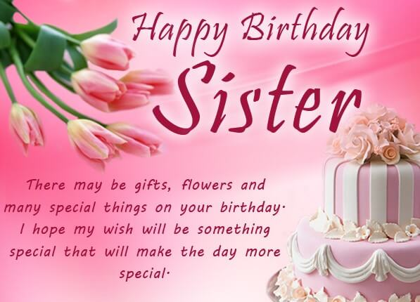 Birthday Quotes For Sister Inspirational