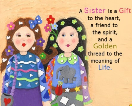 Birthday Quotes For Sister Like Friend