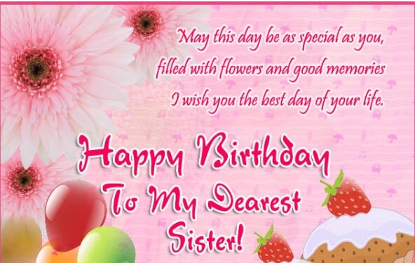Birthday Quotes For Sister Love