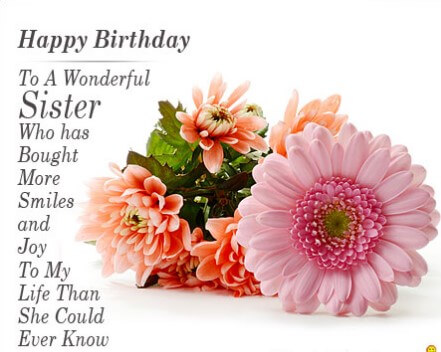 Birthday Quotes For Sister Pictures