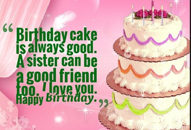Birthday Quotes For Sweet Sister