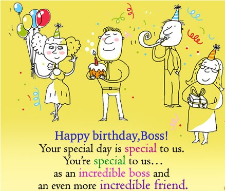 birthday wishes for boss from staff
