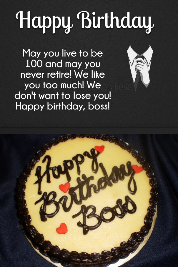 30+ Best Boss Birthday Wishes & Quotes with Images