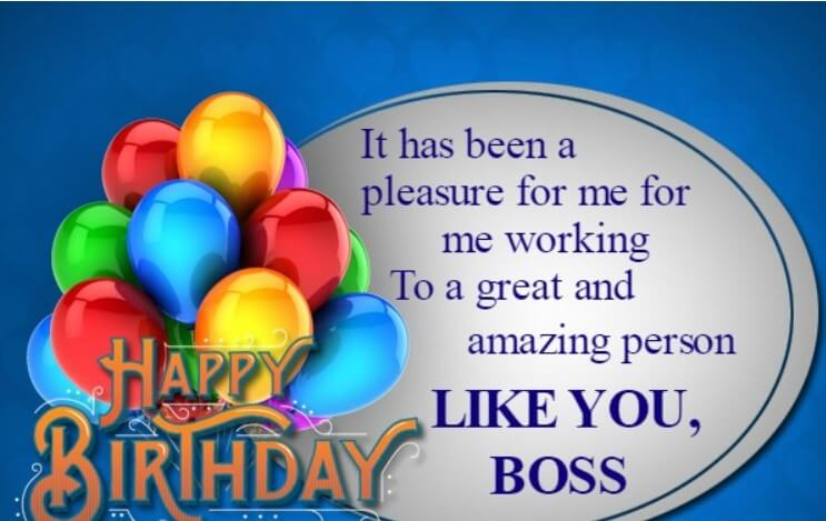 Birthday Wishes For Ex Boss