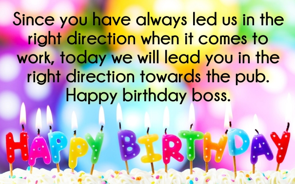 birthday wishes for manager images