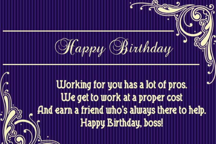 Birthday Wishes For Team Leader