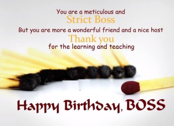 Boss Birthday Wishing Quotes And Syings