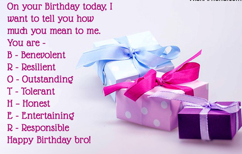 funny birthday quotes for younger brother