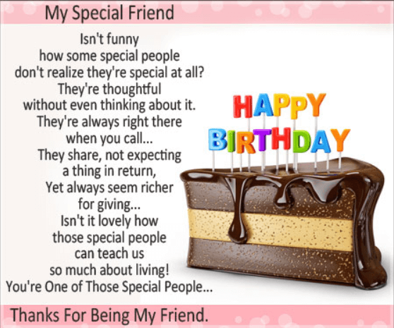 happy birthday quotes for a good best friend