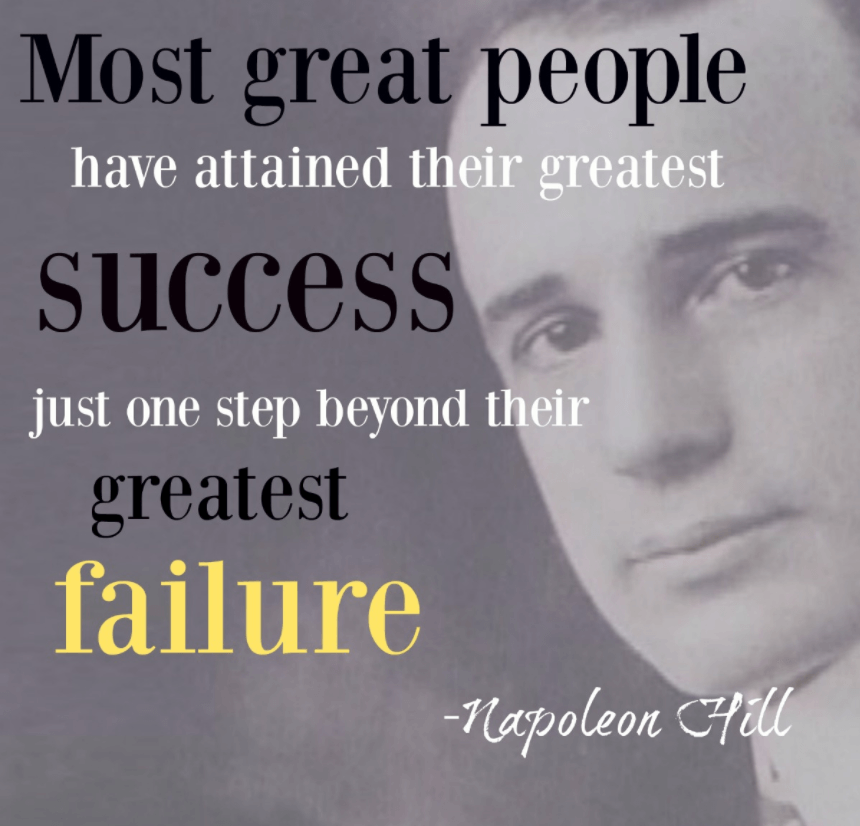 Inspirational Quotes About Failure: 25 Best Quotes About Success And Failure