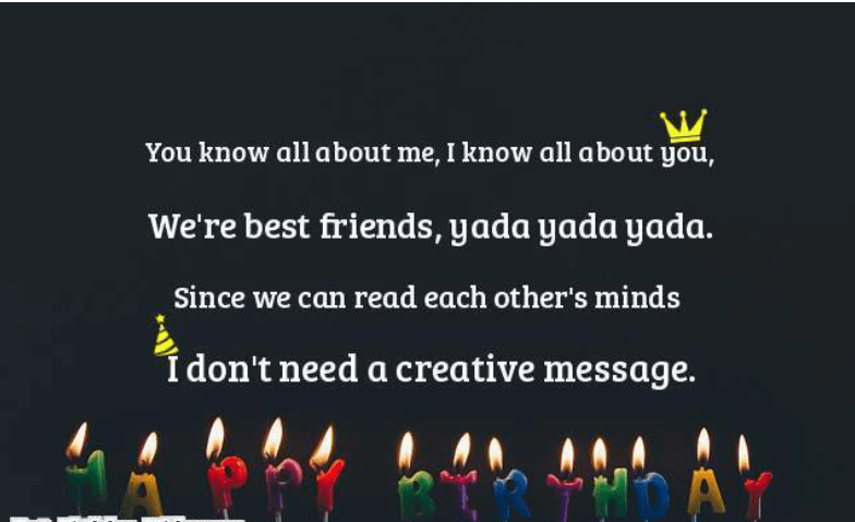 Long Birthday Message And Wishes For Best Friend