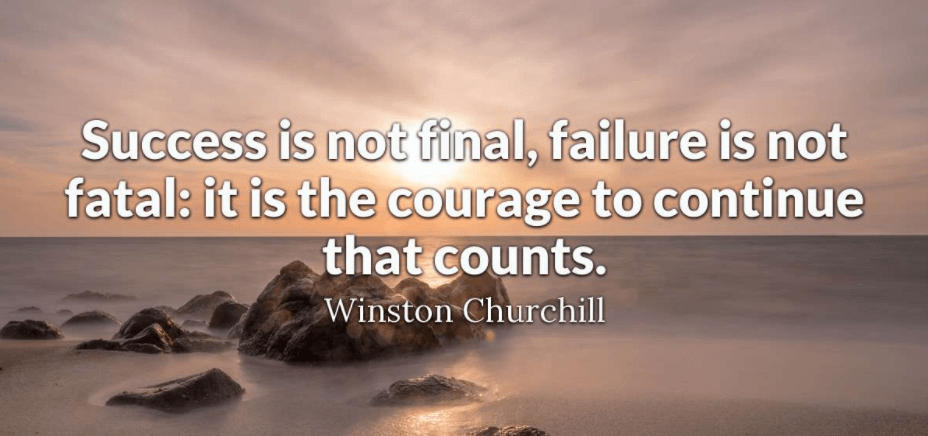 Quotes About Failure And Not Giving Up