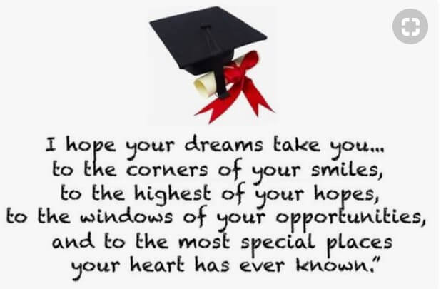 Short Inspirational Quotes For Graduates From Parents Quotes Yard