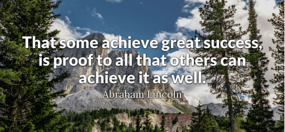 Quotes On Achieving Success In Business
