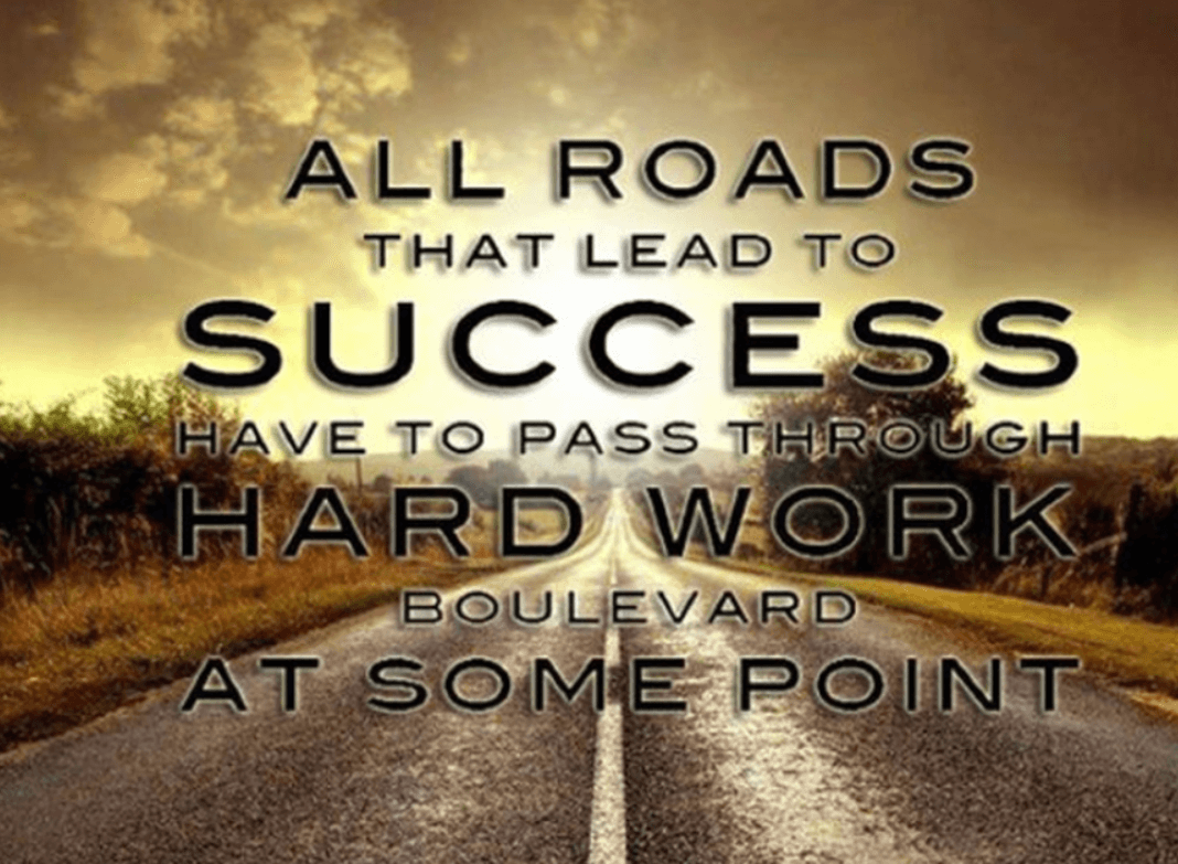 succcess quotes about road