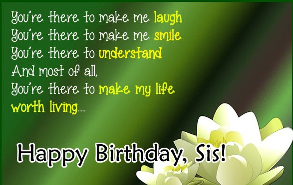Unique Birthday Quotes For Sister