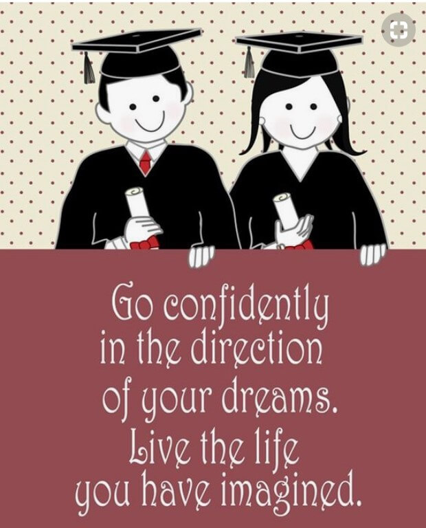 Short Inspirational Quotes For Graduates From Parents