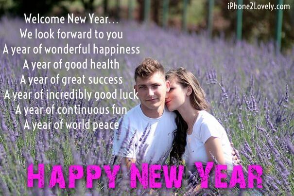Boyfriend Girlfriend New Year 2018 Wishes