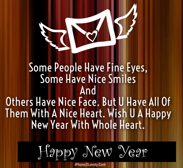 Lovely New Year 2018 Message For Lovers
