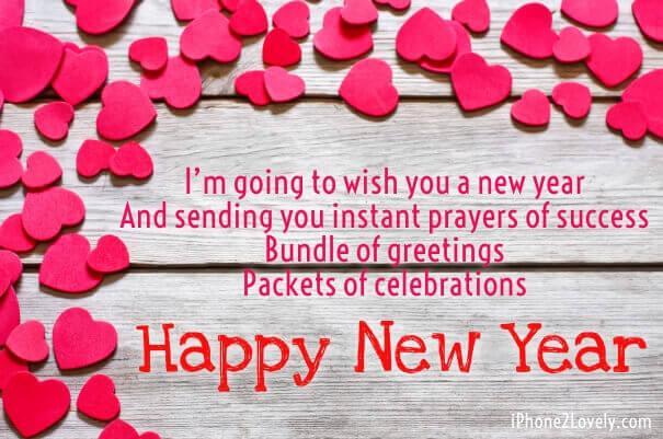 New Year 2018 Love Sayings