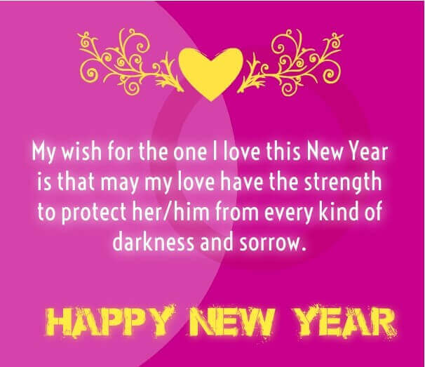 80 Love Quotes And Wishes For Happy New Year 2021 Quotes Yard