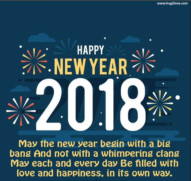 Welcome 2018 New Year Love Quote Image To Wish