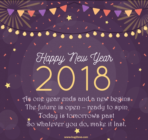 Happy New Year 2018 Wishes Messages For Girlfriend